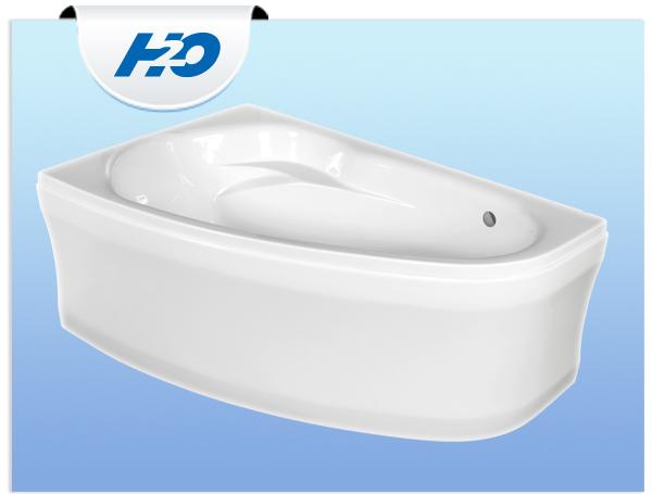 H2O Kitty Aszimmetrikus kád 150 x 95 cm